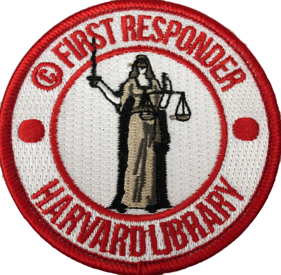 Copyright First Responders patch