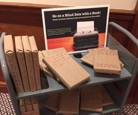 Blind Date With A Book at HLS